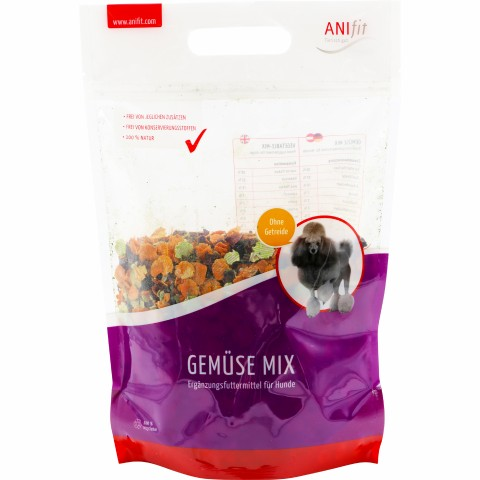 Vegetable-Mix (Gemüse-Mix) 650g (1 Piece)